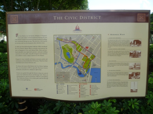 Map of the Civic District