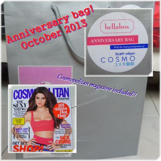 2nd Anniversary Bag with free Cosmopolitan magazine!