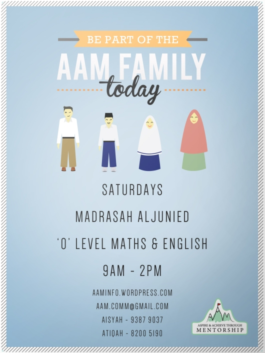 AAM Family poster